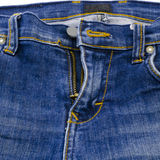 Tralicco blu Fotografia Stock Libera da Diritti