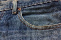 Tralicco blu Fotografie Stock