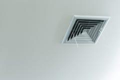 Traliewerk van airconditionersysteem onder plafond Royalty-vrije Stock Afbeeldingen