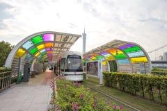 Tram à Canton Image stock
