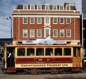 """Tram 11 """"The Boxcar"""" (4) Royalty Free Stock Photos"""