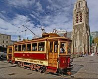 """Tram 11 """"The Boxcar"""" Royalty Free Stock Images"""