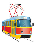 Tram Royalty Free Stock Photography