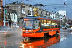 71-623 tram Fotografie Stock Libere da Diritti