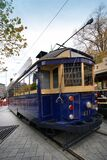 "Tram 411 ""Tramway Restaurant"" Royalty Free Stock Photography"