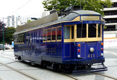 "Tram 411 ""Tramway Restaurant"" Stock Photos"
