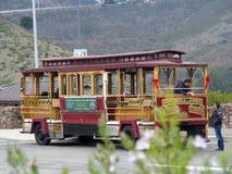 Tram stock foto