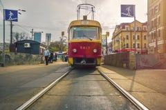 tram royalty-vrije stock fotografie