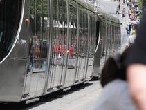 tram Royalty-vrije Stock Foto's