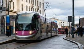 Tram aan Wolverhampton stock afbeelding
