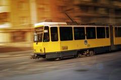 Tram Almaty Fotografie Stock Libere da Diritti