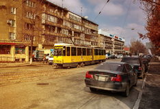 Tram Almaty Royalty Free Stock Photography