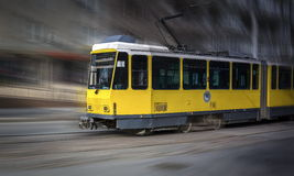 Tram Almaty Stock Photo