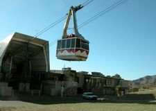 Tram ascending Stock Images