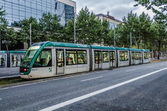 Tram in Barcelona Royalty-vrije Stock Afbeeldingen