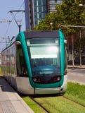 Tram in Barcelona Royalty Free Stock Photo