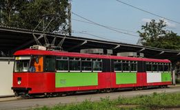 Tram Be8/8 Fotografia Stock