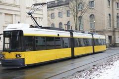 Tram in Berlijn Stock Afbeeldingen