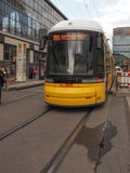 Tram in Berlin Stock Photography