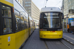 Tram in Berlin, Germany Stock Photography