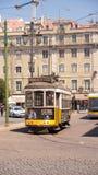 Tram bij het Vierkant stock fotografie
