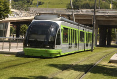 Tram. Bilbao, Euskadi, Spain. Basque Country Stock Photo