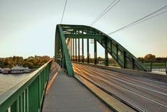 Tram bridge Stock Image