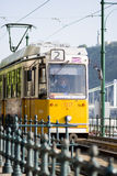 Tram in Budapest Royalty Free Stock Image