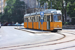 Tram in Budapest Hungary Stock Image