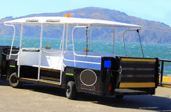 Tram Car in Island Stock Photo