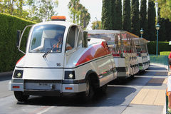 Tram chez Disneyland Photo libre de droits