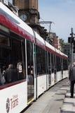 Tram d'Edimbourg photographie stock libre de droits