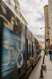 Tram d'Istanbul Photographie stock libre de droits