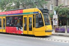 Tram de Budapest Photos libres de droits