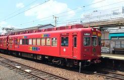 Tram de jouet de Wakayama Photos libres de droits