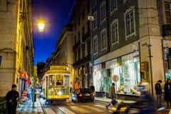 Tram de Lisbonne Photos libres de droits