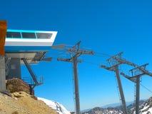 Tram de montagne Photos libres de droits