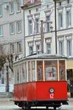 Tram de monument Photos stock