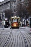 Tram de Noël à Vienne Images stock