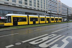 Tram de rue à Berlin, Allemagne photos stock