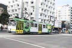 Tram de ville de Melbourne Photos stock