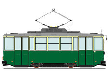 Tram de vintage Images stock