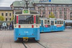 Tram del pubblico di Gothenburg Fotografie Stock Libere da Diritti