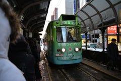 Tram della città Fotografia Stock