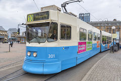 Tram della città di Gothenburg Fotografie Stock