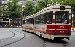 Tram den Haag Netherlands Stock Photography