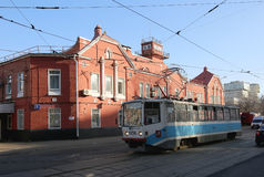 Tram depot behalf of Apakova, opened August 4, 1909. , Moscow, Russia Royalty Free Stock Images