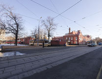 Tram depot behalf of Apakova, opened August 4, 1909. , Moscow, Russia Royalty Free Stock Photo