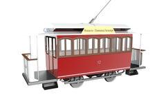 Tram di Elisavetgrad Immagini Stock Libere da Diritti