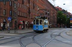 Tram di eredità di Gothenburg Fotografie Stock Libere da Diritti